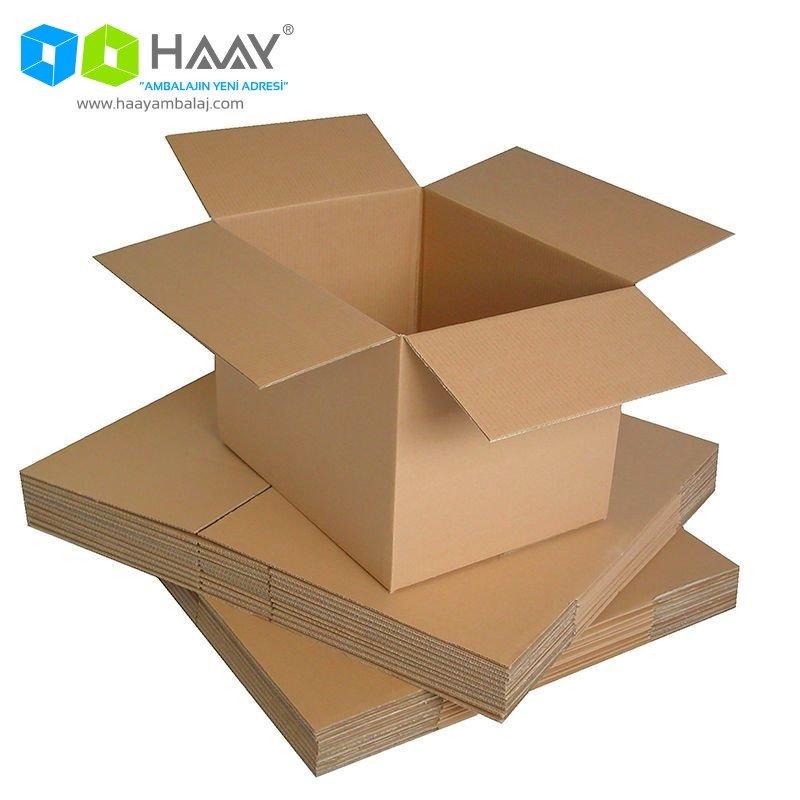 60x60x60 cm Çift Oluklu A-Box Kraft Koli