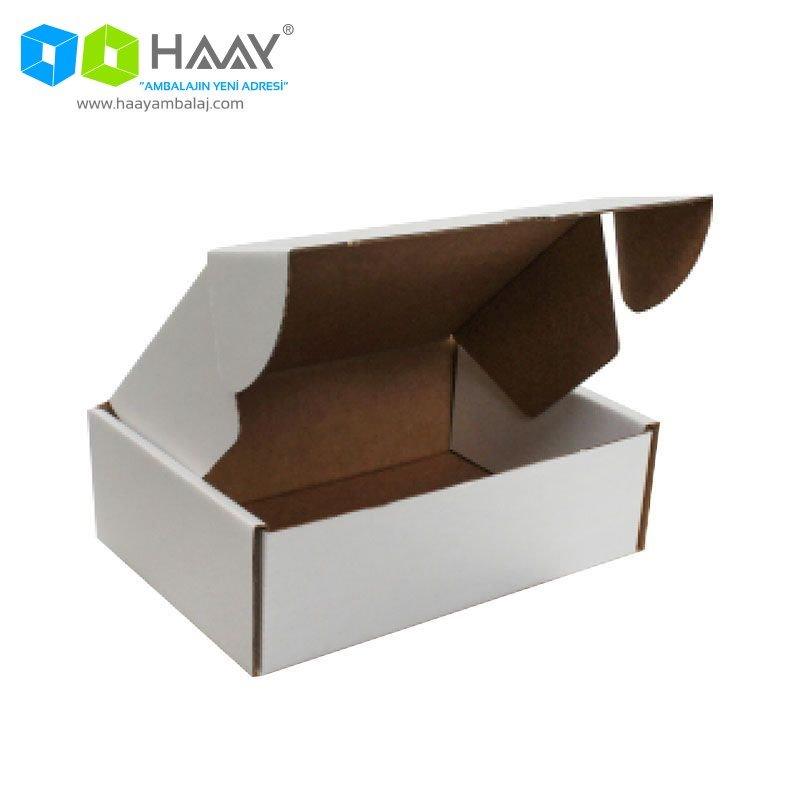 19x13x6 cm Beyaz Kutu
