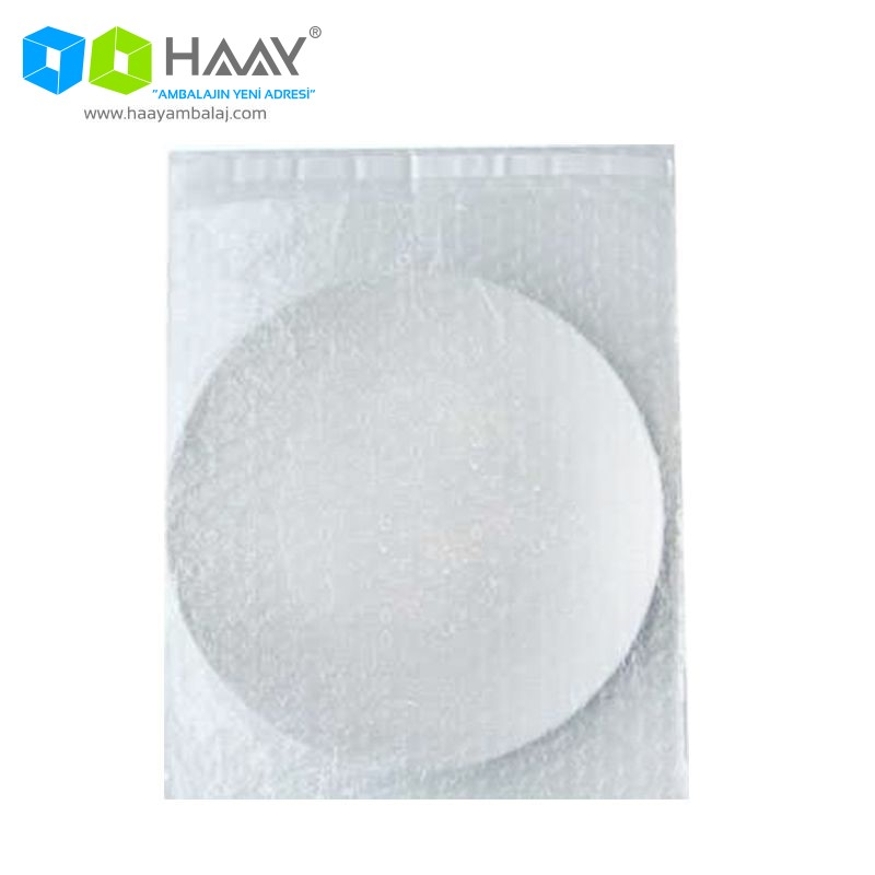 16x16,5+4 cm Bantlı Balonlu Torba