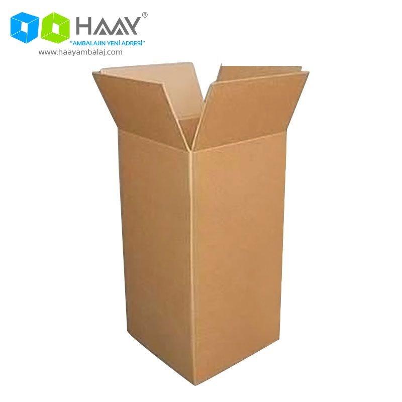 55x55x95 cm Çift Oluklu Kraft A-Box Koli