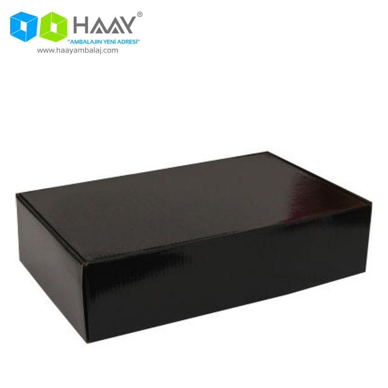 36x20x12 cm Siyah Merdane Kutu