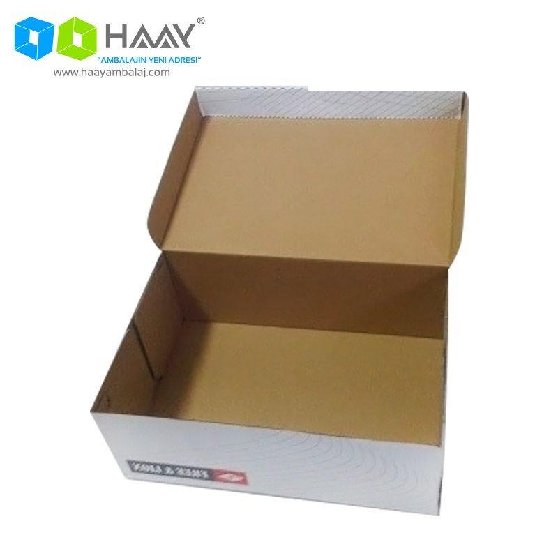 Baskılı Karton Ayakkabı Kutusu - 146