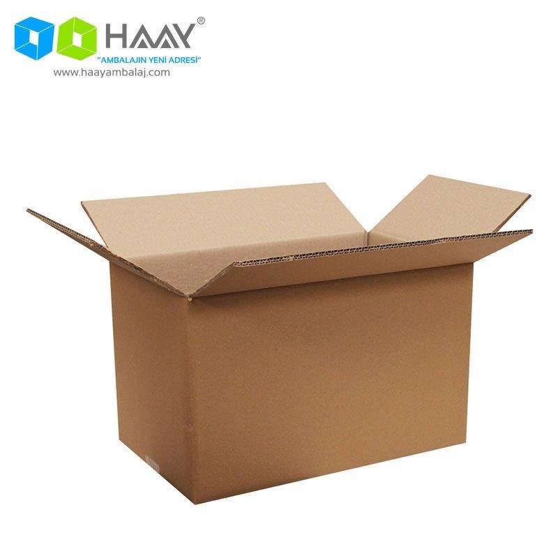 40x25x25 cm Tek Oluklu A-Box Koli