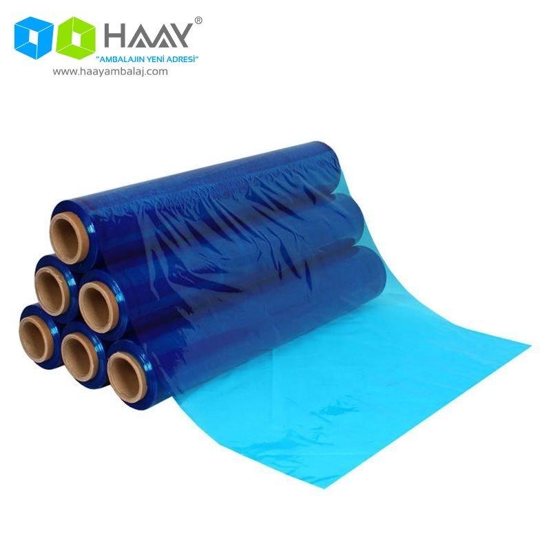 Mavi Renkli 23 Micron Streç