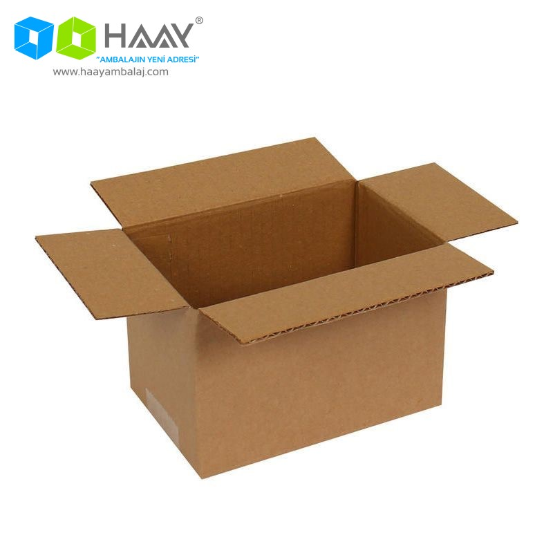 15x10x10 cm Tek Oluklu A-Box Koli