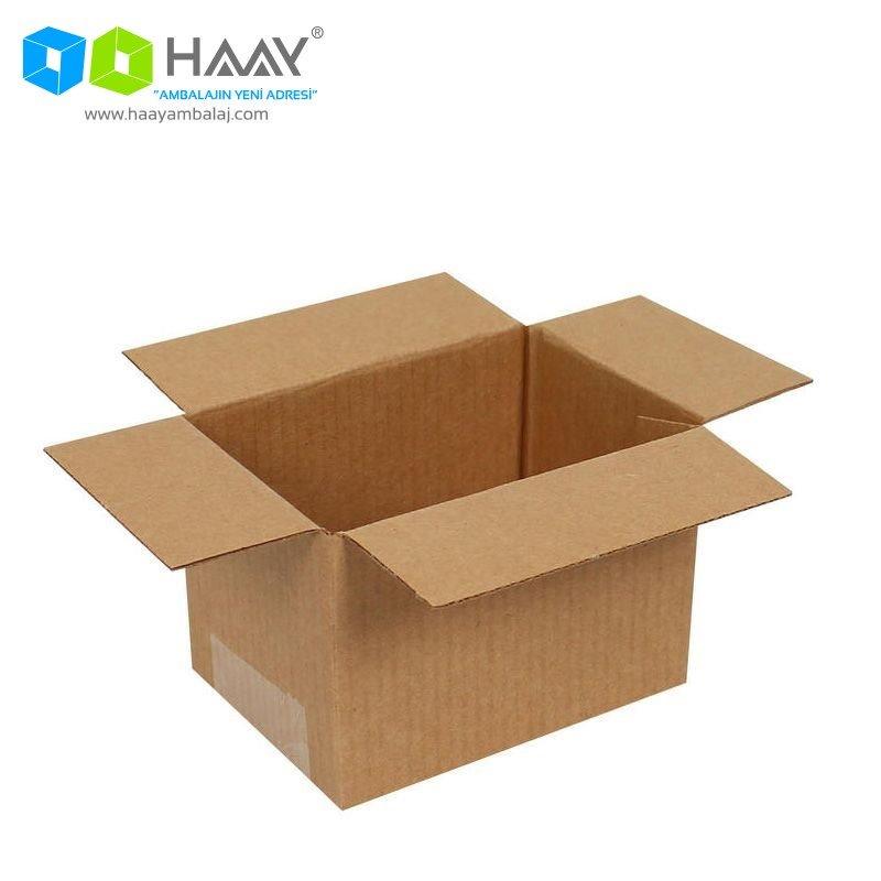 10x7x7 cm Tek Oluklu A-Box Koli