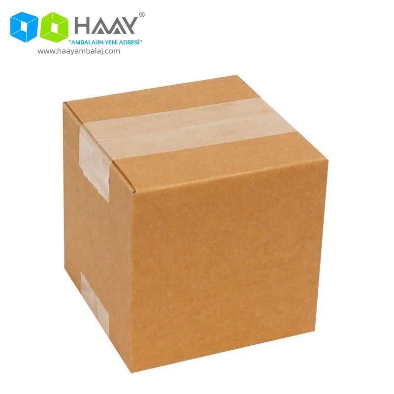 11x11x11 cm Tek Oluklu A-Box Koli - 188