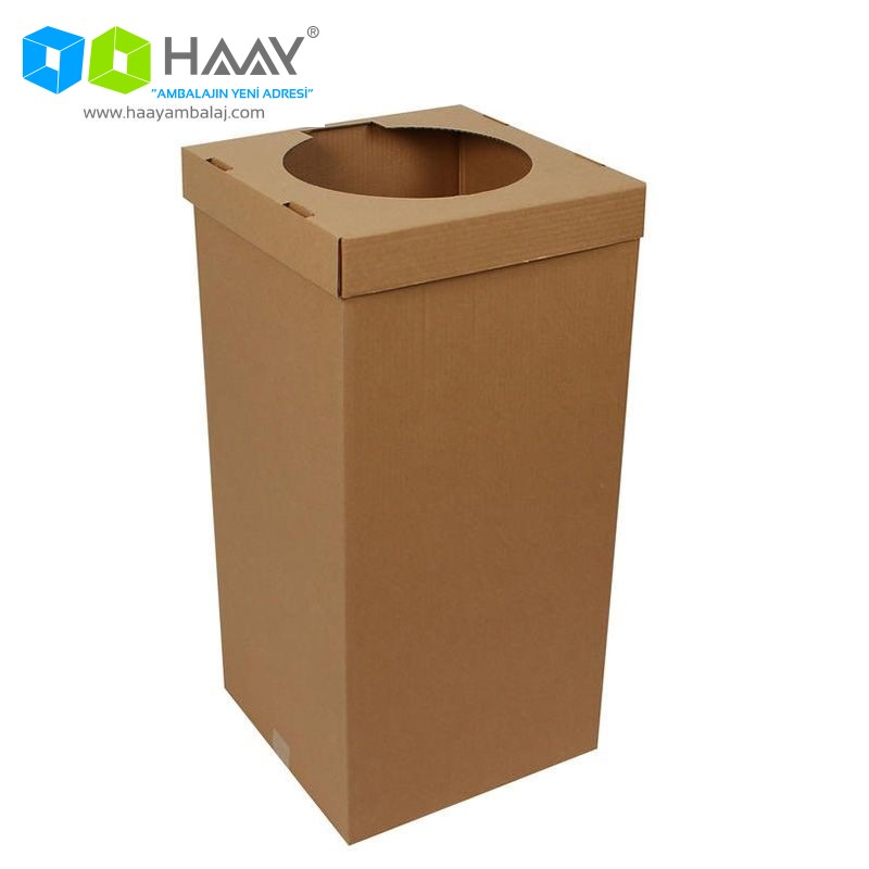 35,5x35,5x73 cm Atık Kağıt Kolisi