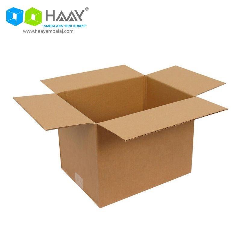 30x23x23 cm Tek Oluklu A-Box Koli