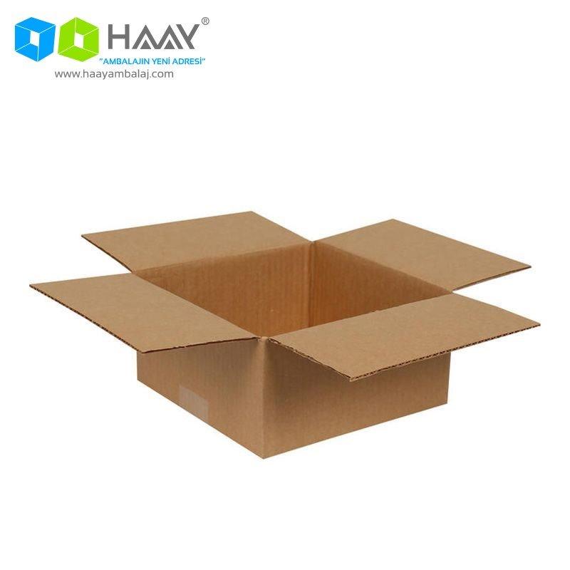 20x20x10 cm Tek Oluklu A-Box Koli