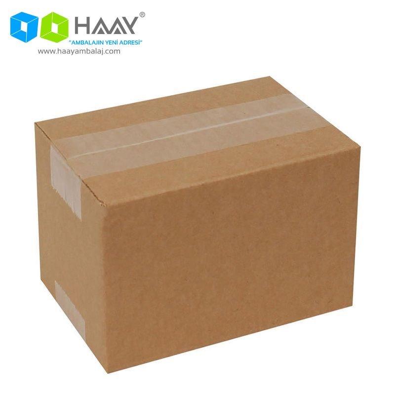 15x10x10 cm Tek Oluklu A-Box Koli - 194