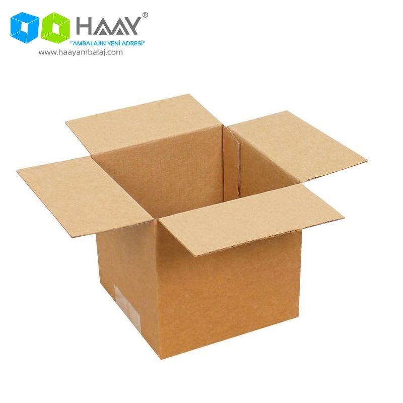11x11x11 cm Tek Oluklu A-Box Koli