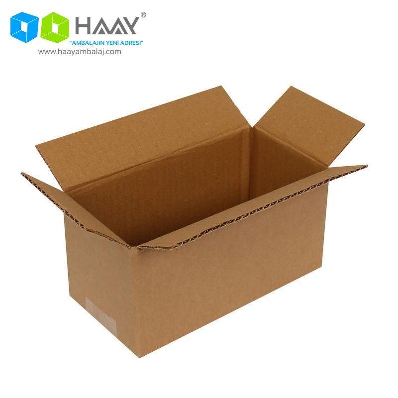 20x10x10 cm Tek Oluklu A-Box Koli - 201