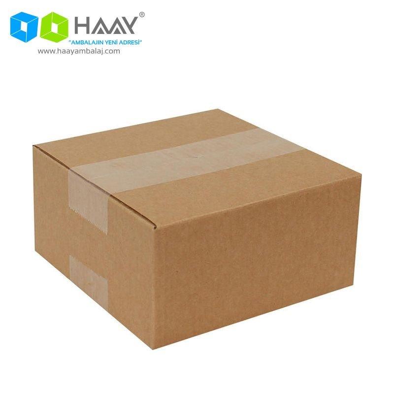 14x14x7 cm Tek Oluklu A-Box Koli - 192