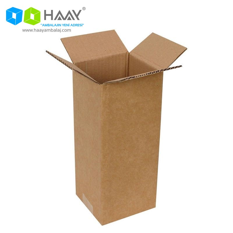 12,5x12x29 cm Tek Oluklu A-Box Koli - 189