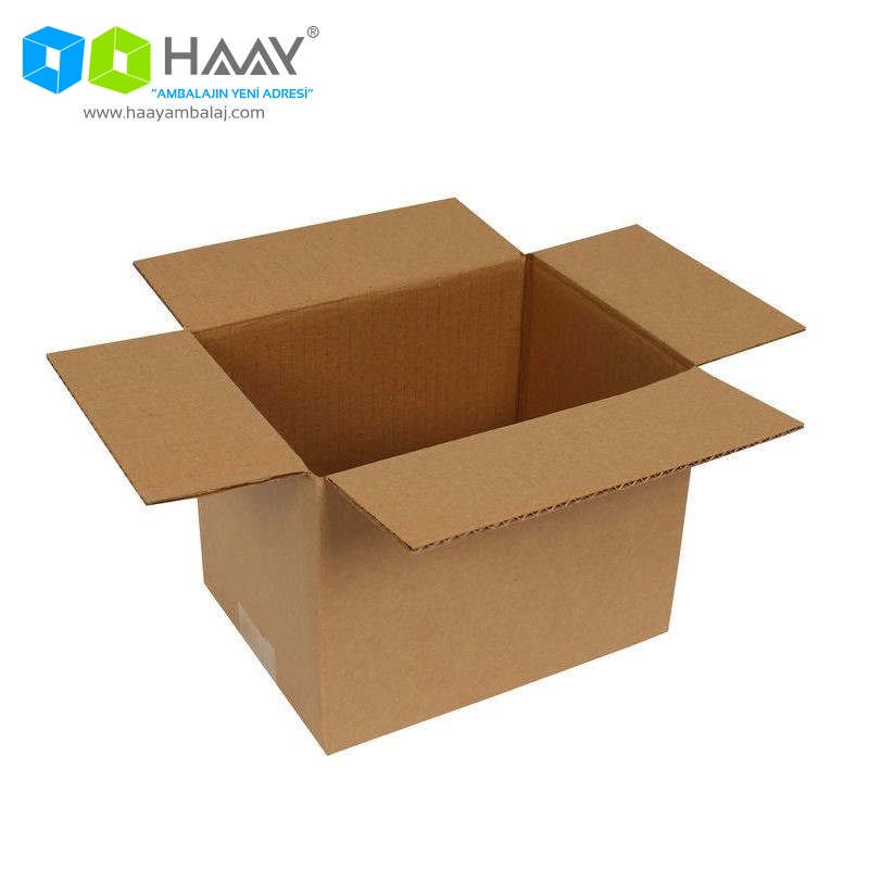 20x15x15 cm Tek Oluklu A-Box Koli