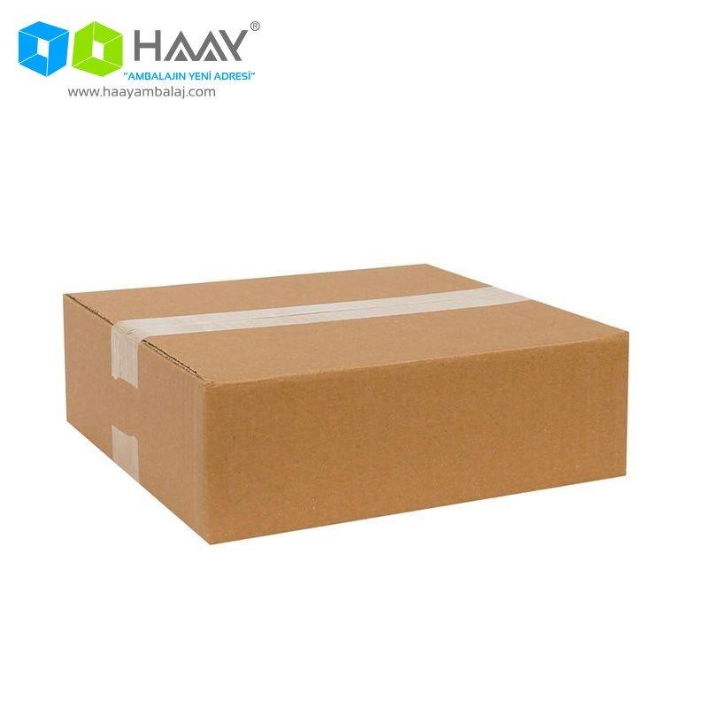 26,5x24,5x8,5 cm Tek Oluklu A-Box Koli - 220