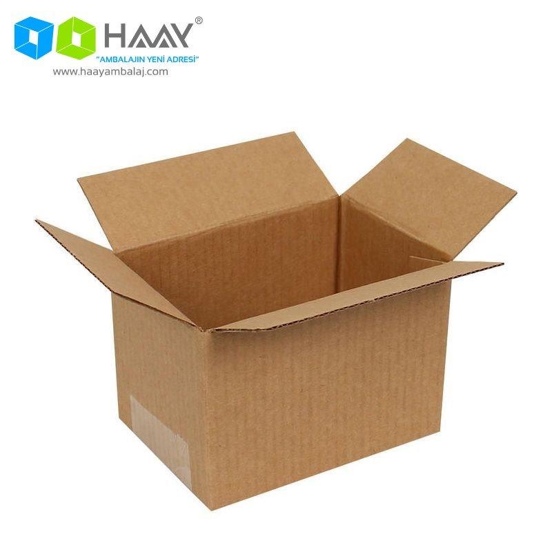 10x7x7 cm Tek Oluklu A-Box Koli - 185