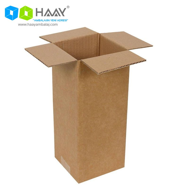 12,5x12x29 cm Tek Oluklu A-Box Koli