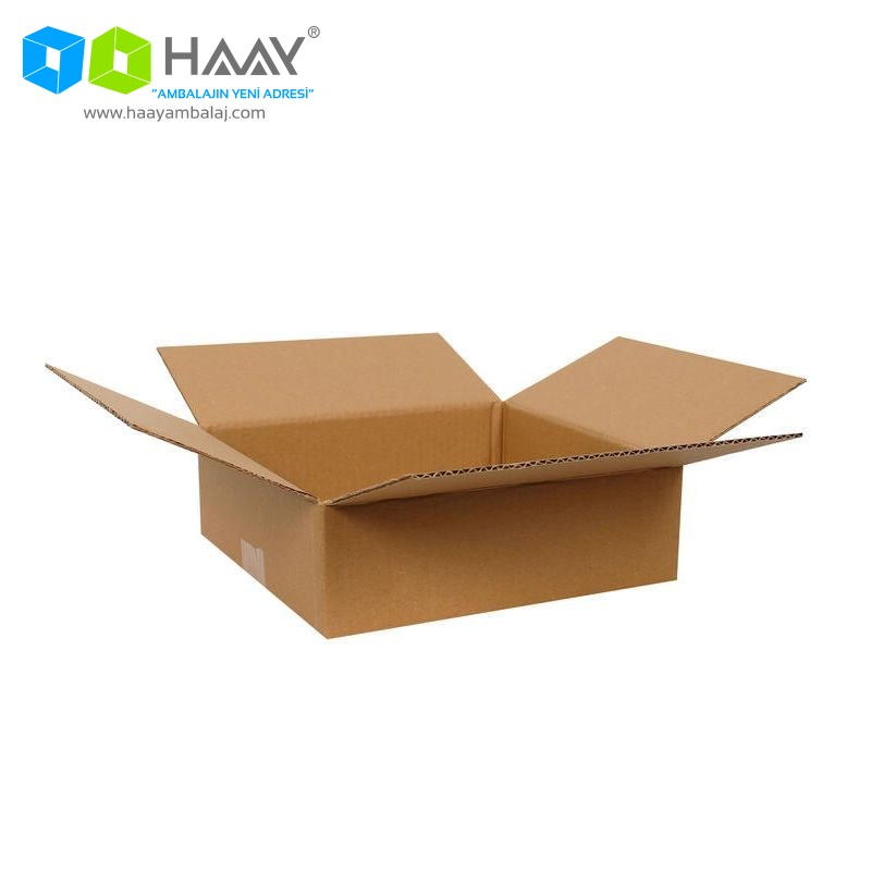 26,5x24,5x8,5 cm Tek Oluklu A-Box Koli - 219