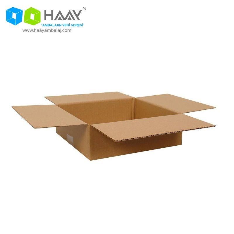 26,5x24,5x8,5 cm Tek Oluklu A-Box Koli