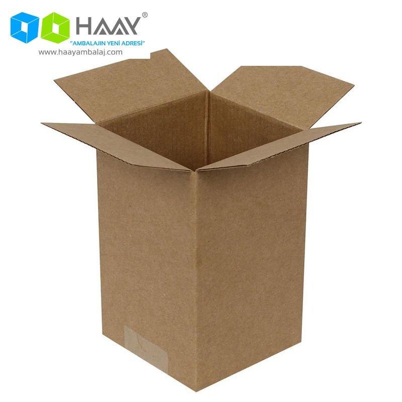 10x10x16 cm Tek Oluklu A-Box Koli - 258