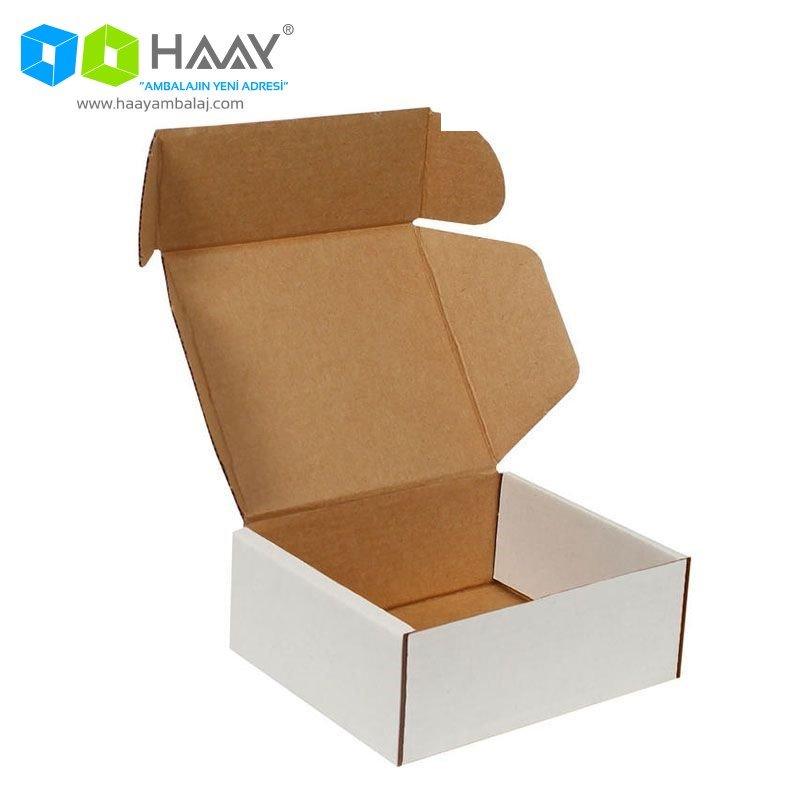12x10x4,5 cm Beyaz Kutu