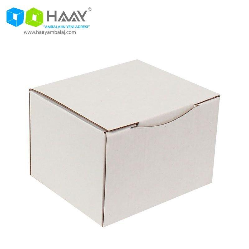 12,5x11x8 cm Beyaz Kutu - 321