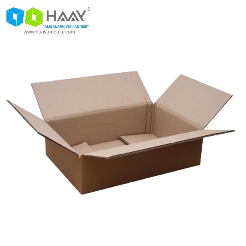 50x30x15 cm Tek Oluklu A-Box Koli