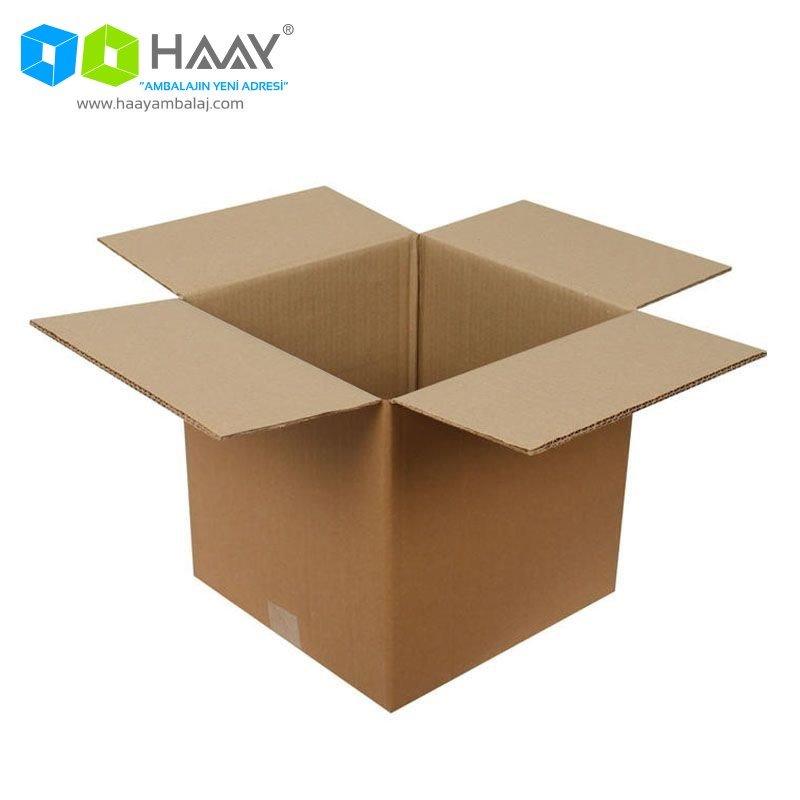 35x35x35 cm Çift Oluklu A-Box Koli