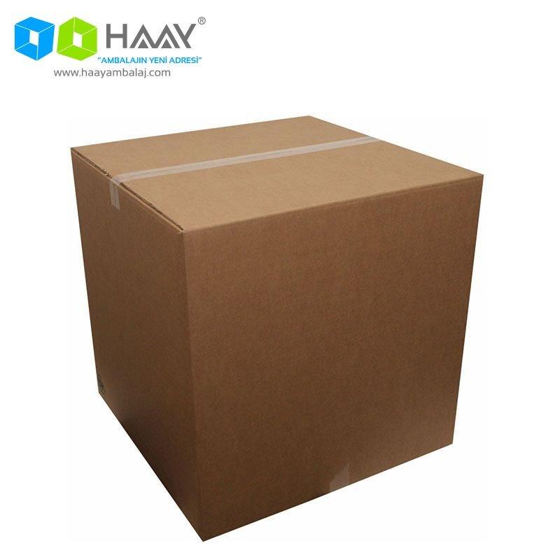 50x50x50 cm Çift Oluklu A-Box Kraft Koli - 302