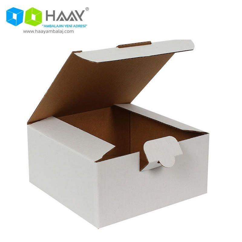13,5x13,5x6,5 cm Beyaz Kutu - 324