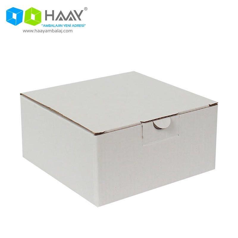 13,5x13,5x6,5 cm Beyaz Kutu - 325