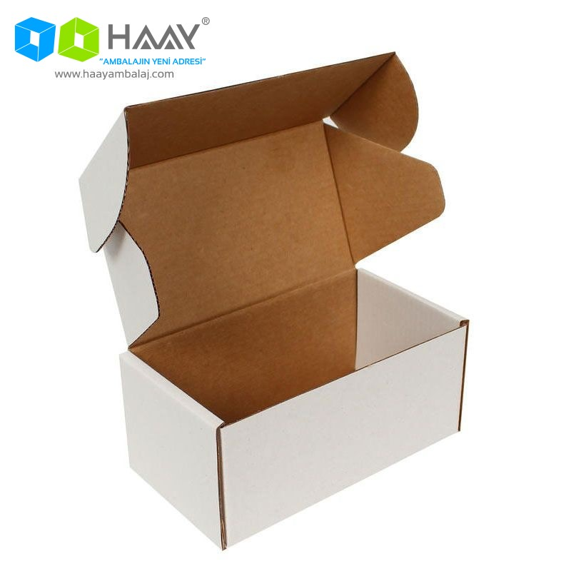 15x8x6,5 cm Beyaz Kutu