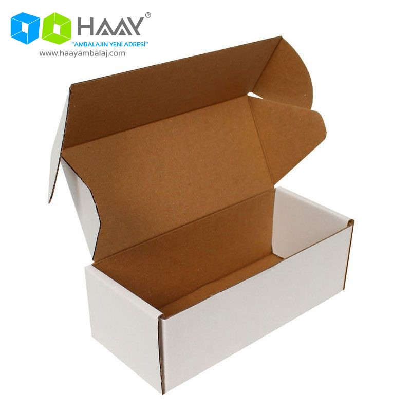 18x7,5x6 cm Beyaz Kutu