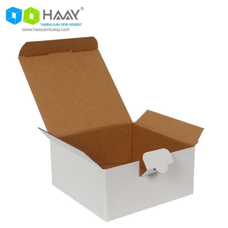 13,5x13,5x6,5 cm Beyaz Kutu