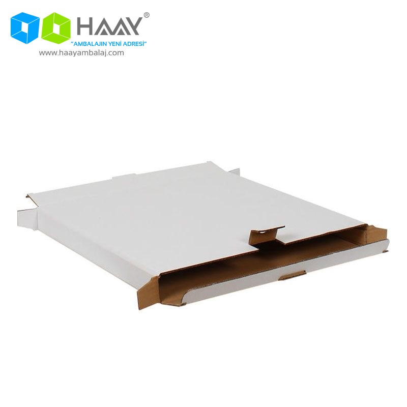 39,5x4,5x39,5 cm Beyaz Kilitli Kutu