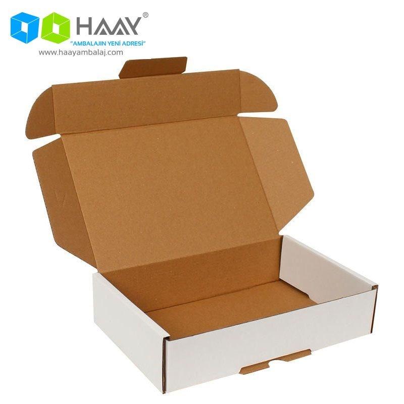 24x16,5x6 cm Beyaz Kutu
