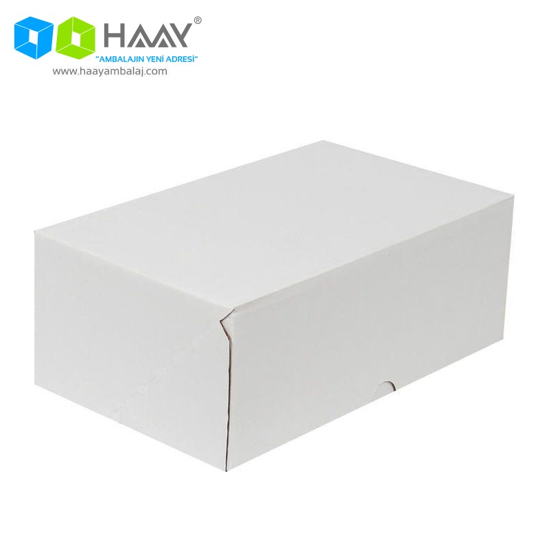 25x16x10 cm Beyaz Kutu (4 Nokta) - 367