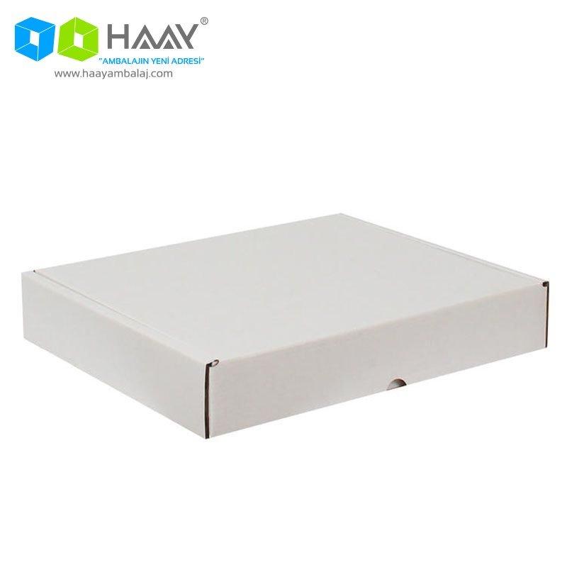 39,5x31x,6,5 cm Beyaz Kutu - 394