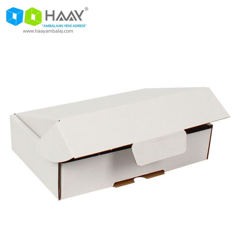 24x16,5x6 cm Beyaz Kutu - 363