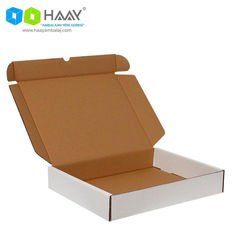 39,5x31x,6,5 cm Beyaz Kutu