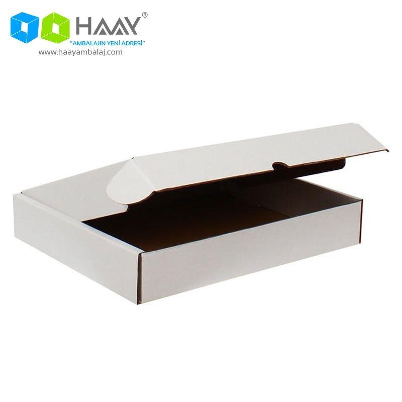 39,5x31x,6,5 cm Beyaz Kutu - 393