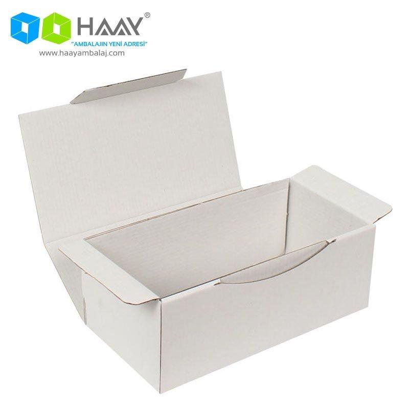 22,5x12x8 cm Beyaz Kutu