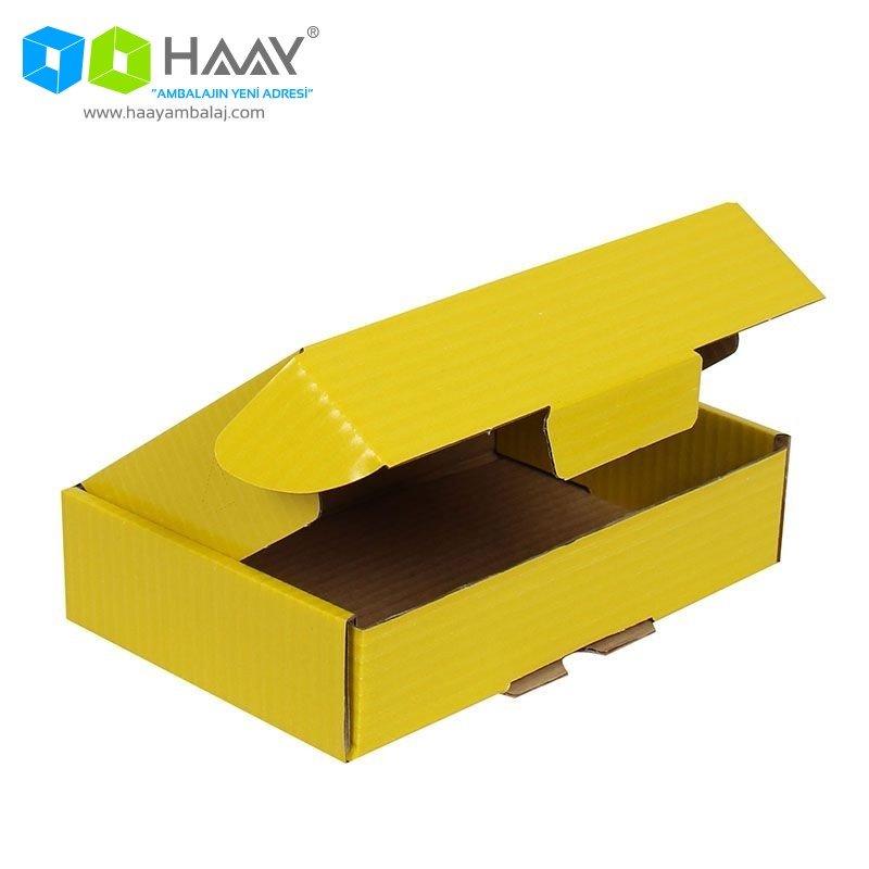 24x16,5x6 cm Kilitli Kutu (Sarı) - 425