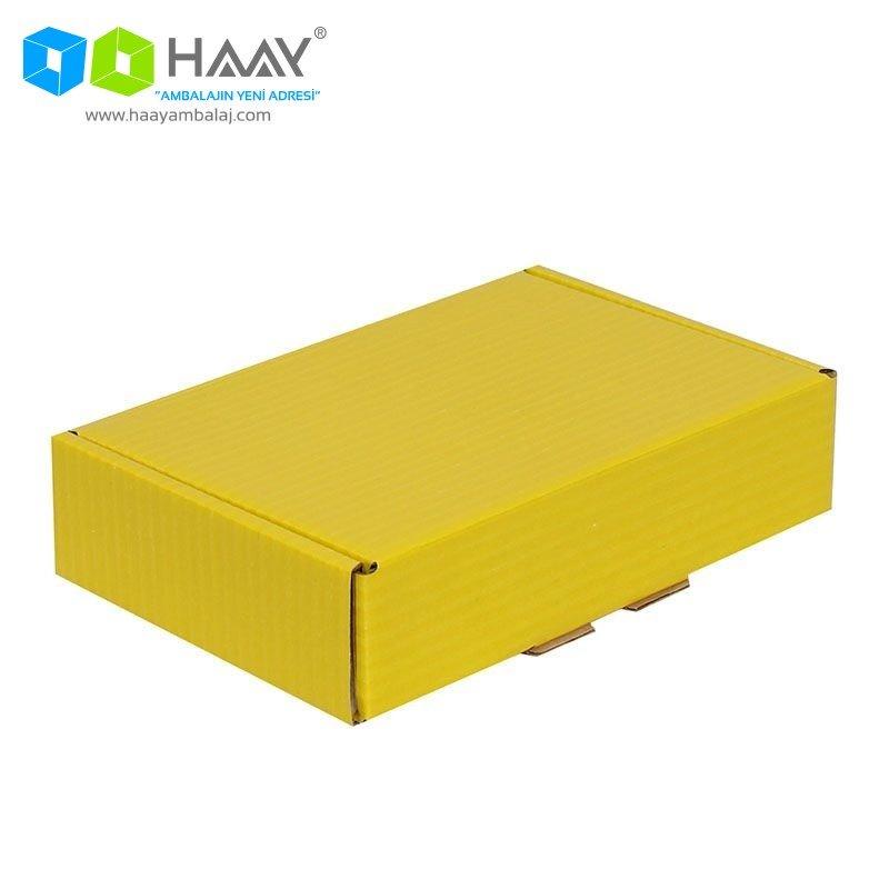 24x16,5x6 cm Kilitli Kutu (Sarı) - 426