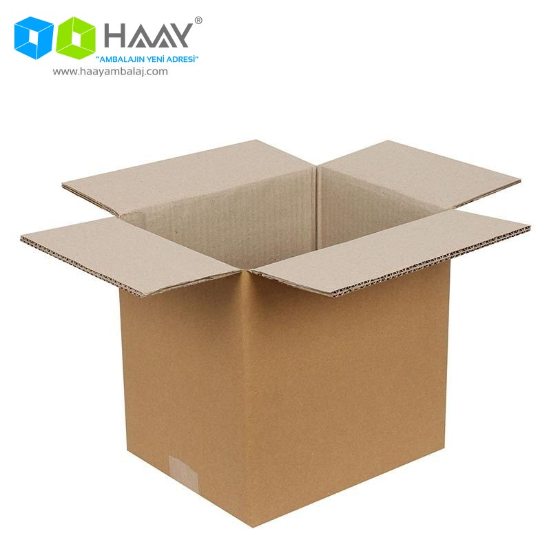25x25x25 cm Çift Oluklu A-Box Koli