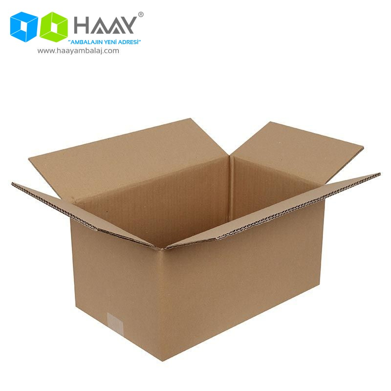 40x25x20 cm Çift Oluklu A-Box Koli - 472