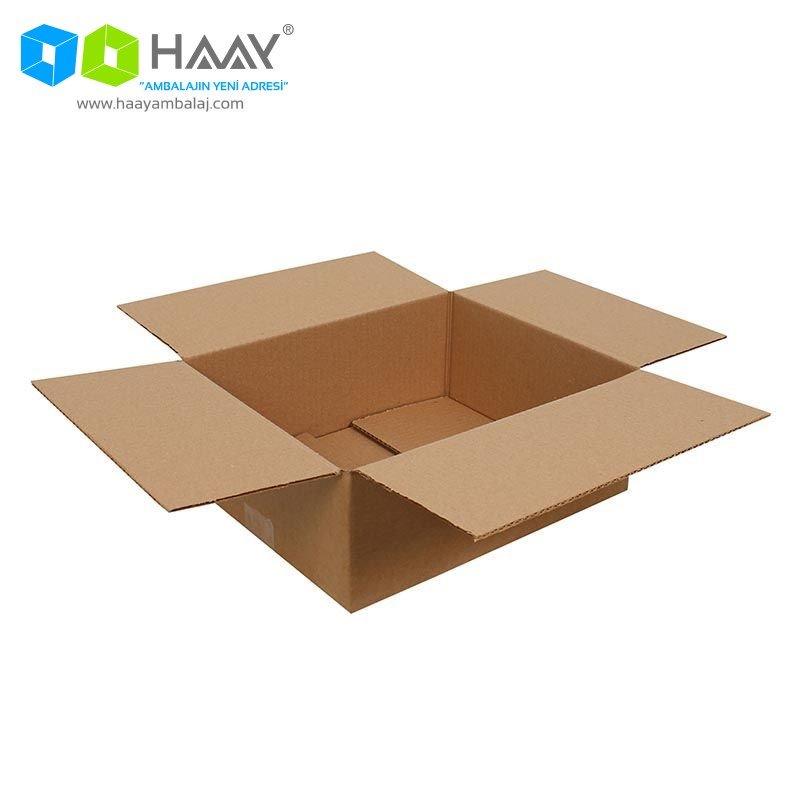 30x25x10 cm Tek Oluklu A-Box Koli