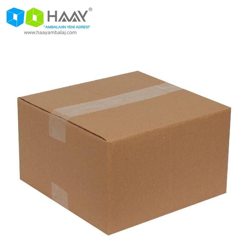 25x25x15 cm Çift Oluklu A-Box Koli - 445